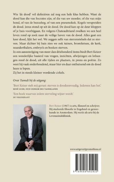 Bert Keizer 1 - Reis om de dood - Boekhandel Almelo - Boekwinkel Bij de Aa
